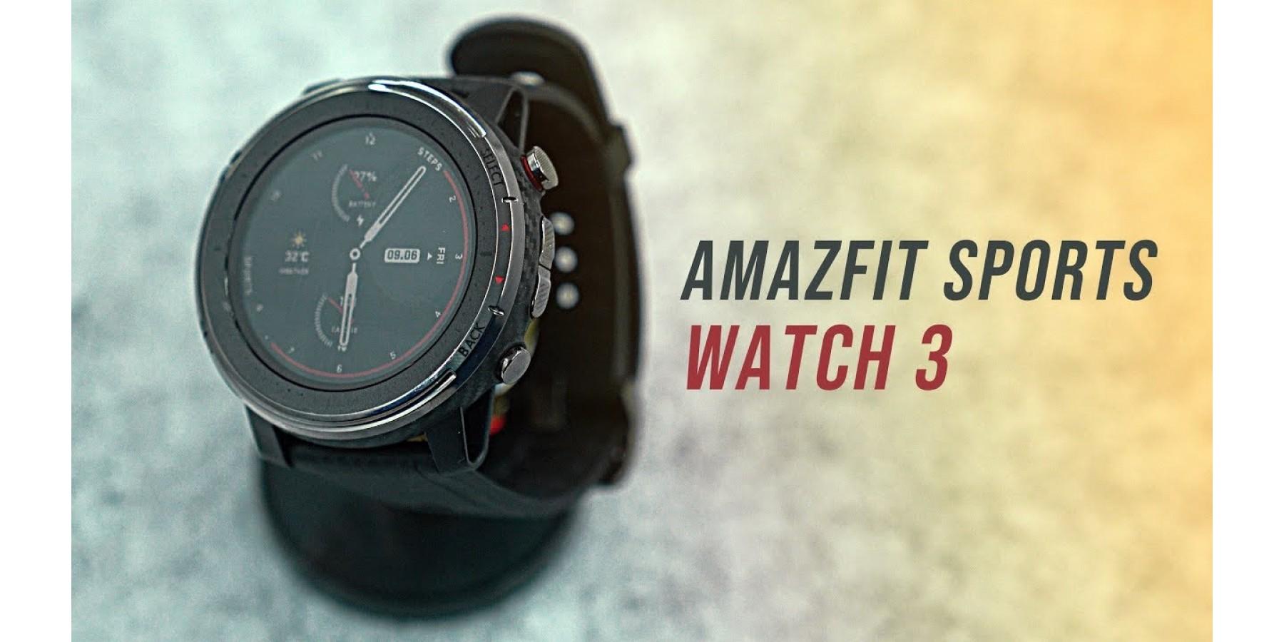 Amazfit stratos 3